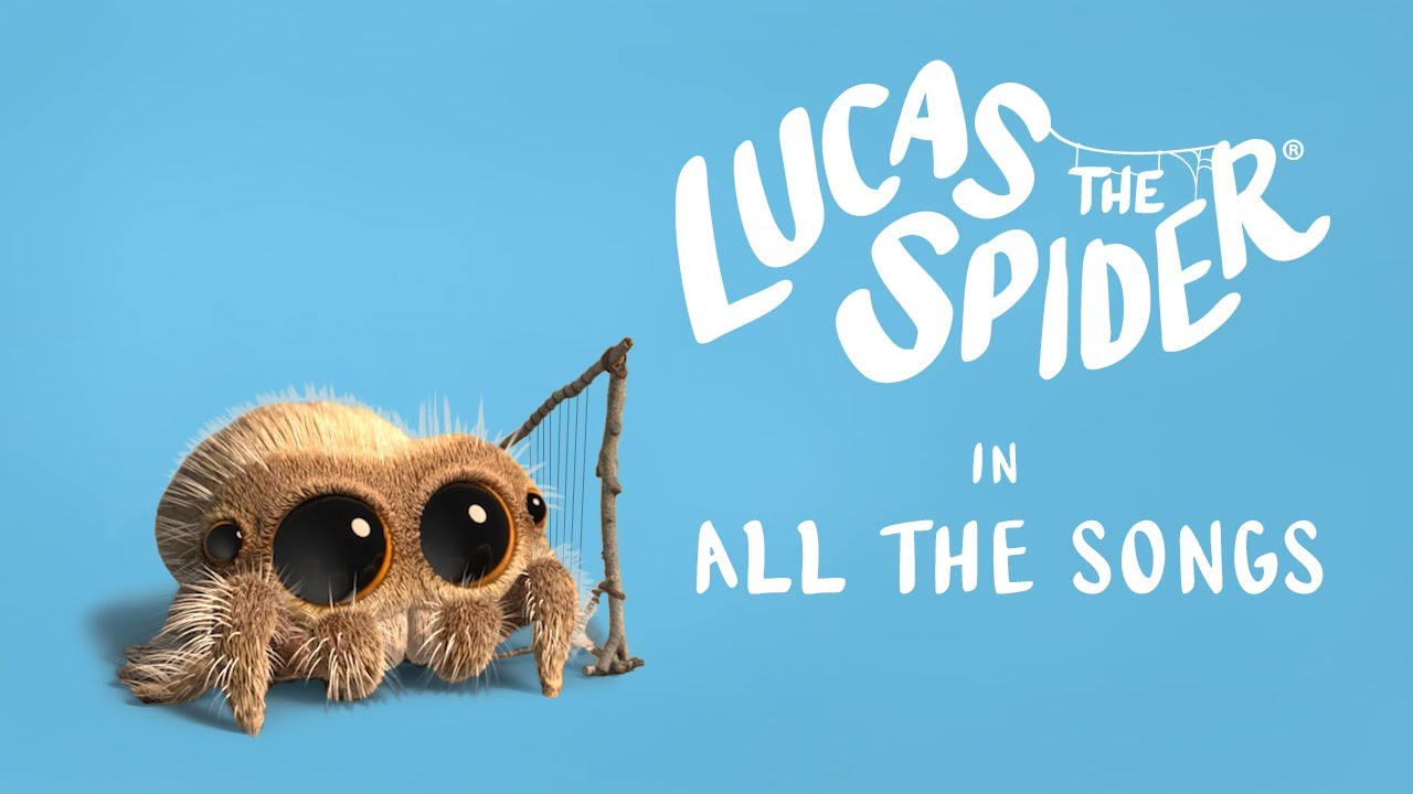 Lucas the Spider - All the Songs!