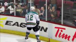NHL 14 VS Gameplay - San Jose Sharks vs Anaheim Ducks