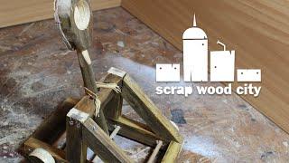 How to make a mini scrap wood catapult