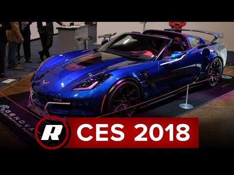 CES 2018: The Genovation GXE is an electric Corvette with a seven-speed manual
