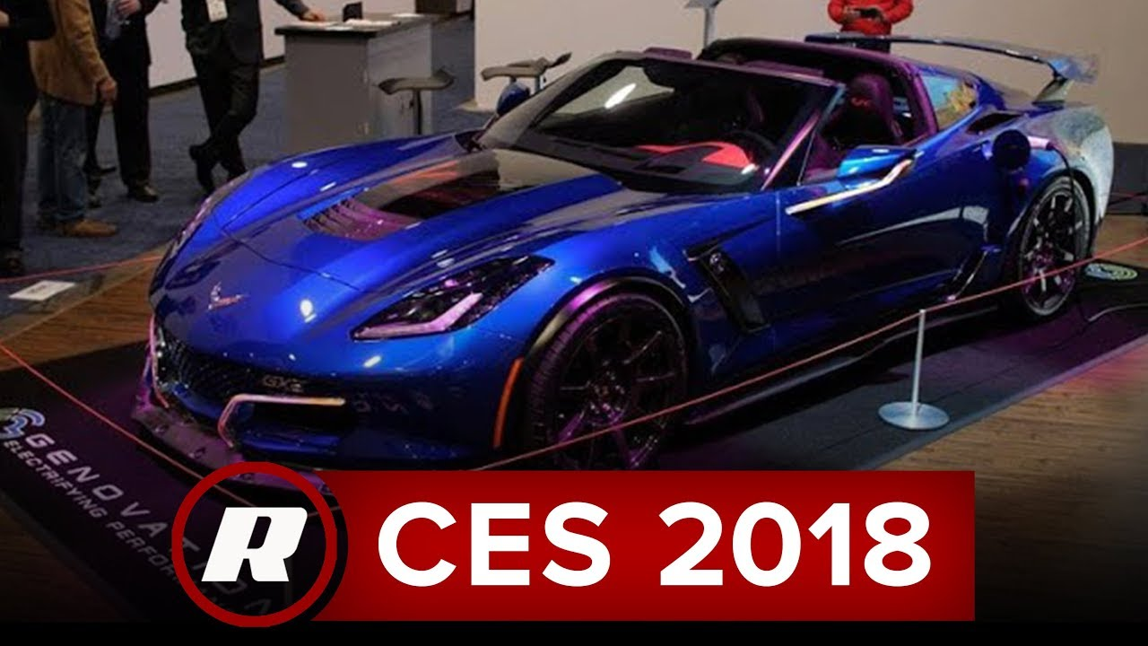 CES 2018: The Genovation GXE is an electric Corvette with ...
