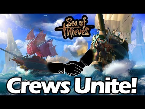 CREATING A NAVY FLEET - *Sea of Thieves Gameplay*