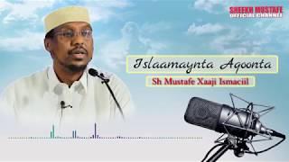 Islaameynta Aqoonta - Sh Mustafe xaaji ismaaciil  (AUDIO - Cod kaliya)