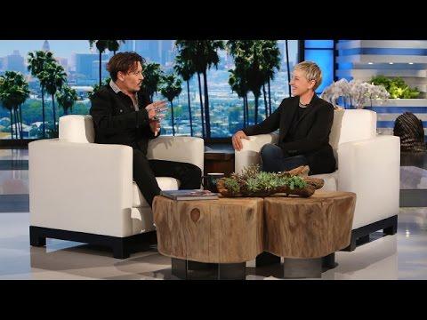 Johnny Depp Talks Playing Trump