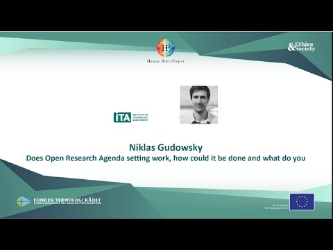 Youtube video - Webinar on open research agenda setting - pt.3 (Niklas Gudowsky)