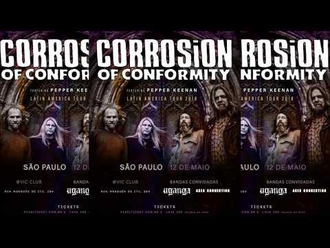 CORROSION OF CONFORMITY - LATIN AMERICA TOUR 2018 ANNOUNCE