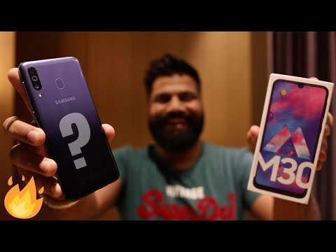 Samsung Galaxy M30 Unboxing & First Look - Triple Camera 5000mAh Battery