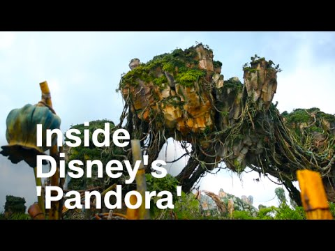 Inside Disney's 'Pandora: World of Avatar'