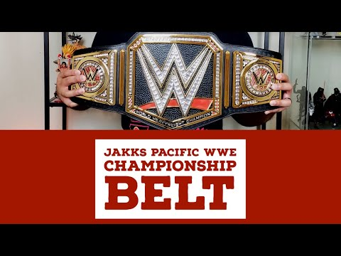 Jakks Pacific WWE Championship Unboxing And Review