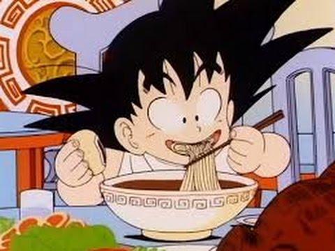 Kid Goku Eating Funny Hd Youtube