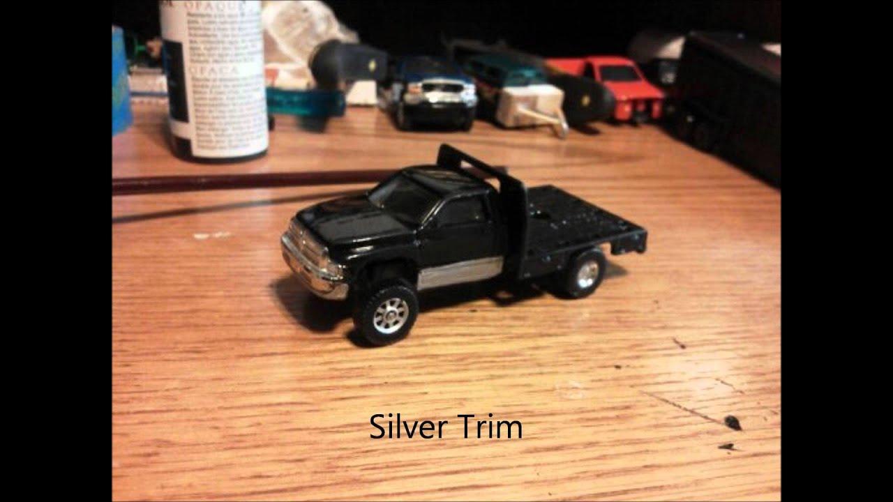 1 64 scale trucks and trailers - Custom Dodge Flat Bed