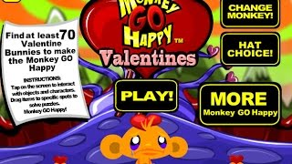 monkey Go Happy Valentines (Счастливая обезьянка: день святого Валентина)