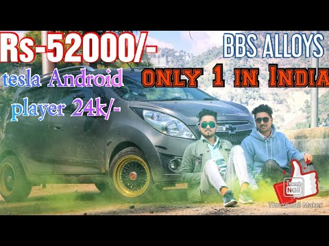CHEVROLET || BEAT || BBS ALLOY  WHEEL TESLA ANDROID PLAYER FULL CAR MODIFIED ONLY ONE CAR IN INDIA