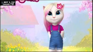 My Talking Angela - New Update 2018 MAGIC SPARKLE  - iPhone Gameplay