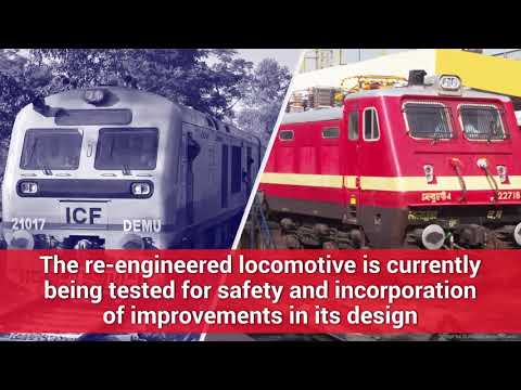 Indian Railways Converts Diesel Engine into Electric