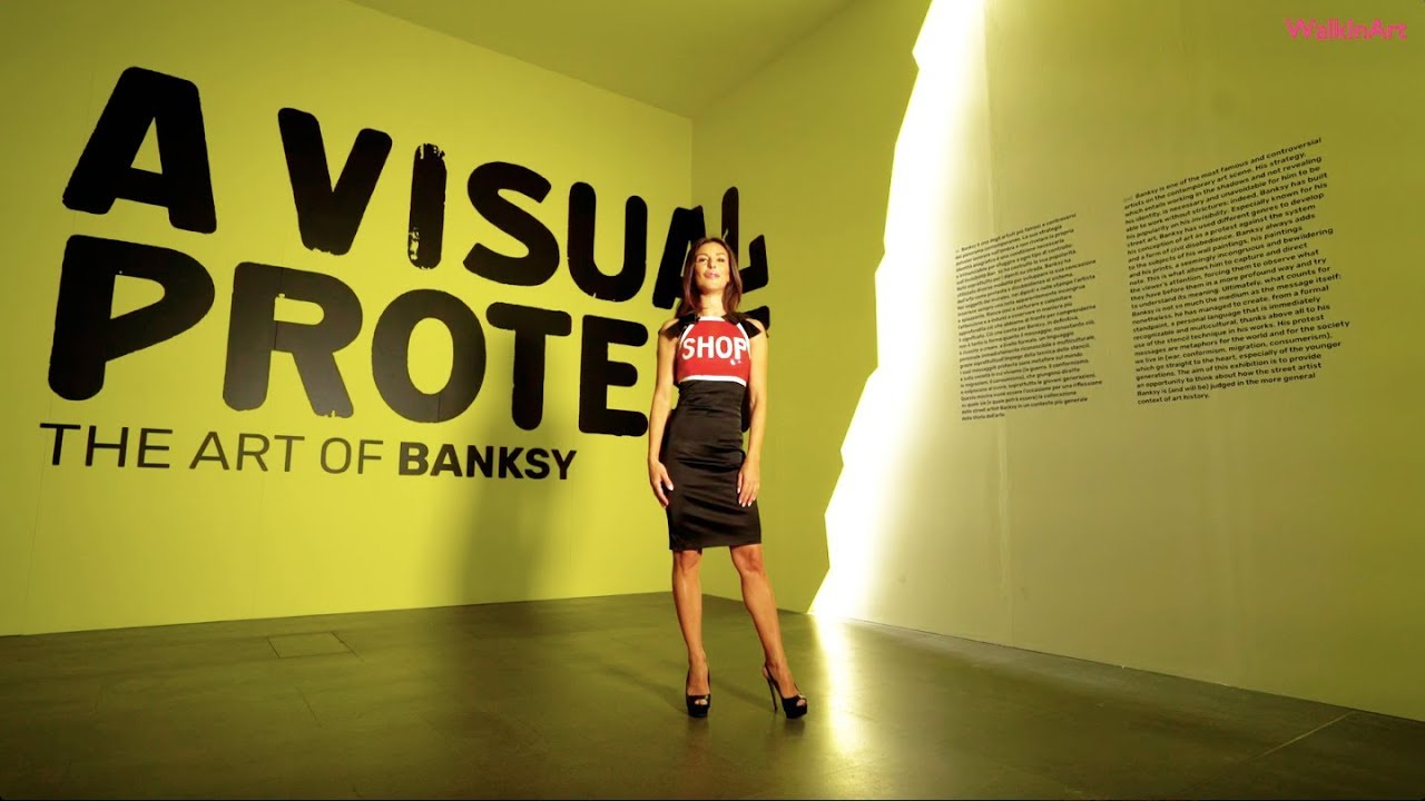 The Art of Banksy. A Visual Protest al MUDEC - Museo delle Culture di Milano