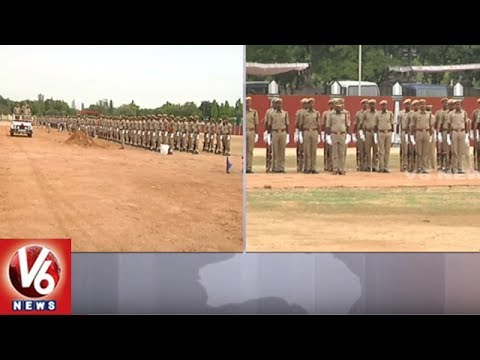 Police Rehearsal In Parade Ground For Telangana Formation Day Celebrations | V6 News