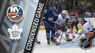 02/22/18 Condensed Game: Islanders @ Maple Leafs