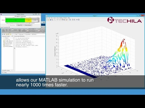 Rocket Speed to MATLAB using Techila Distributed Computing Engine and Cloud Computing