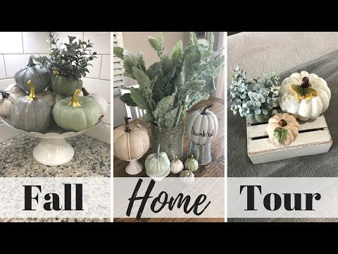 2018 FALL HOUSE TOUR | FALL DECOR | WHOLE HOME TOUR