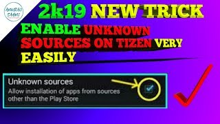 Enable unknown sources on Tizen