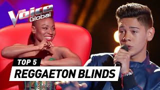 Incredible REGGAETON SONGS in The Voice (Kids)