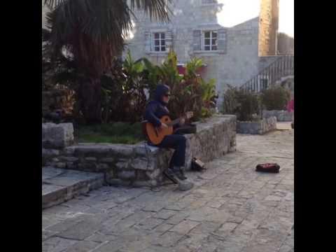 Уличный музыкант Хорватия Street musician Croatia