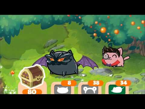 Fancy Cats - Match 3 & Kitty Dress-up Game Trailer