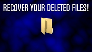 How to recover deleted and missing files in Windows XP/7/8/10!