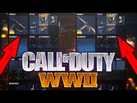 CALL OF DUTY : WORLD WAR 2 ! LISTE DES ARMES LEAK ! (NON OFFICIEL)