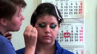 Восточный макияж / Oriental makeup Обучение визажистов в Омске