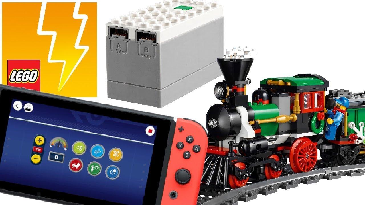 Lego Powered Up Zug mit Nintendo Switch über App gesteuert [HD]