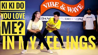 Kiki do you love me dance - In My Feelings | choreography cover video | NiranJan & YuMi