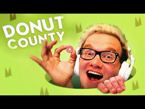 FALLING FOR YOU! - Donut County Gameplay