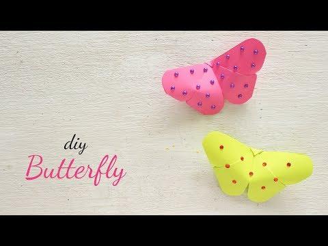 DIY Paper Butterfly | Simple Craft Ideas | Ventunoart