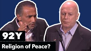 Christopher Hitchens and Tariq Ramadan Debate: Is Islam a Religion of Peace? | 92Y Talks