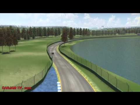 Australia F1 Circuit Layout Drive Thru Grand Prix Melbourne - 2014 CARJAM TV Best Car TV Shows