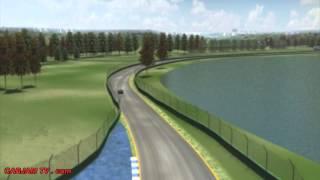 Australia F1 Circuit Layout Drive Thru Grand Prix Melbourne - 2014 CARJAM TV Best Car TV Shows