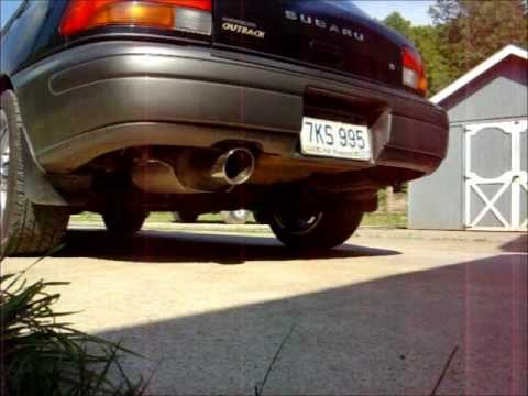 1999 Subaru Impreza Outback Sport Stock Exhaust Vs Cat