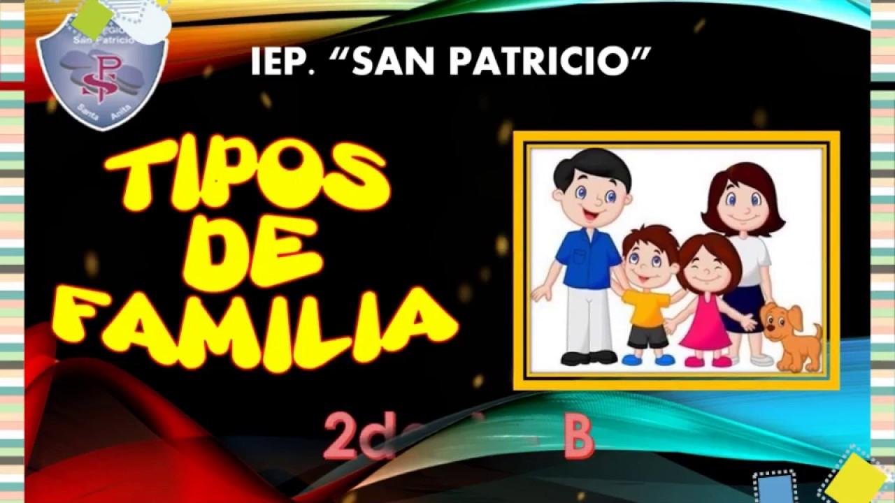 TIPOS DE FAMILIA YouTube