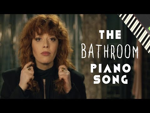 Russian Doll Bathroom Piano song tutorial [Gotta Get Up]