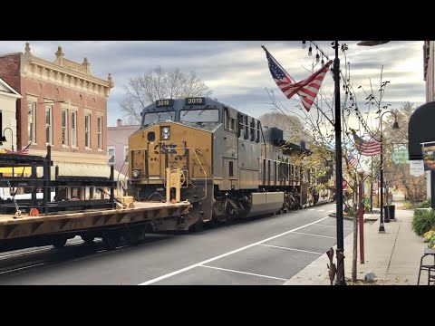 Top 3 Reasons  Fewer Trains Street Running In LaGrange Kentucky!  Where Did The Trains Go?  CSX L\u0026N