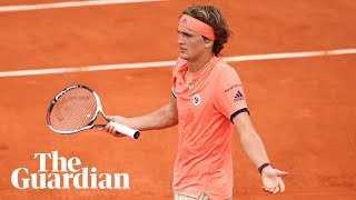 Alexander Zverev has promised a reporter from Yorkshire 'multiple questions' if he makes it to the final of the French Open after initially failing to understand ...