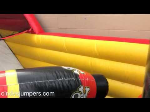Toddler Pirate Ship Slide Combo By Cindys Jumpers