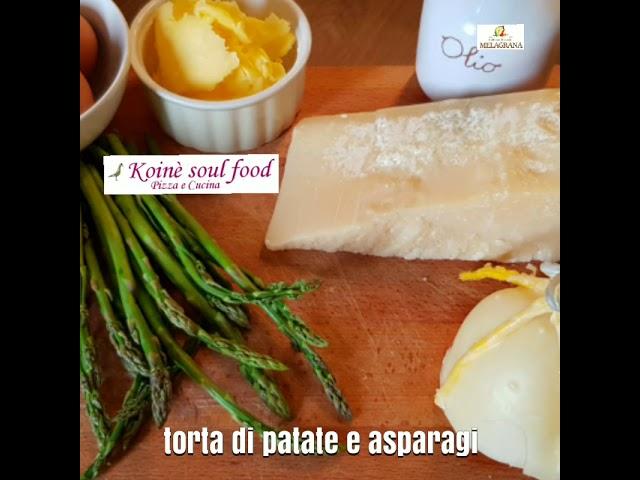 Torta di patate e asparagi