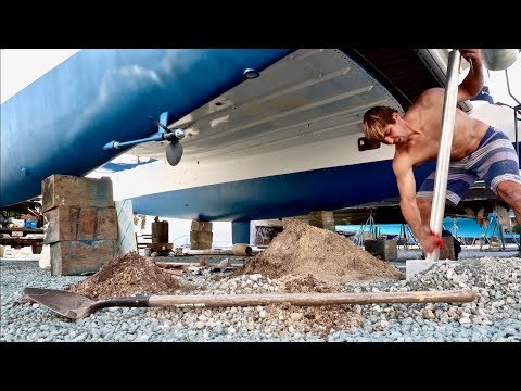 The MOST Difficult Boat Yard Jobs...