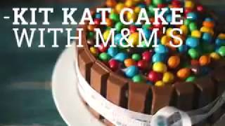 YUMMY AND QUICK RECIPES (Kit_Kat_Cake)