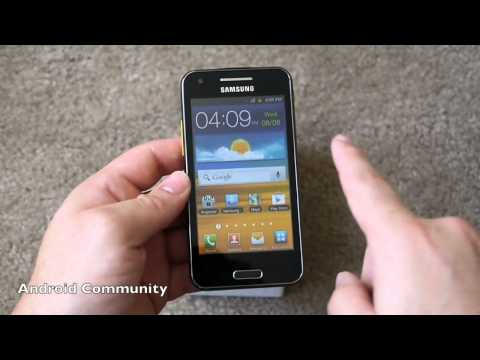 Samsung Galaxy Beam unboxing and hands on