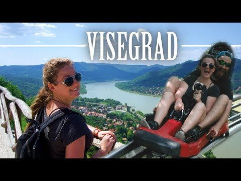 CAN YOU BELIEVE THIS IS AN HOUR FROM BUDAPEST? | Visegrad, Hungary 🇭🇺