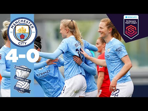 KEEPING THE PRESSURE ON | Man City 4-0 Birmingham | FA WSL 20/21